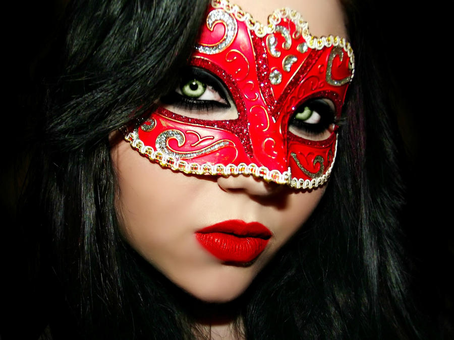 Masquerade Masked Face by KikiMJ-Stock on DeviantArt