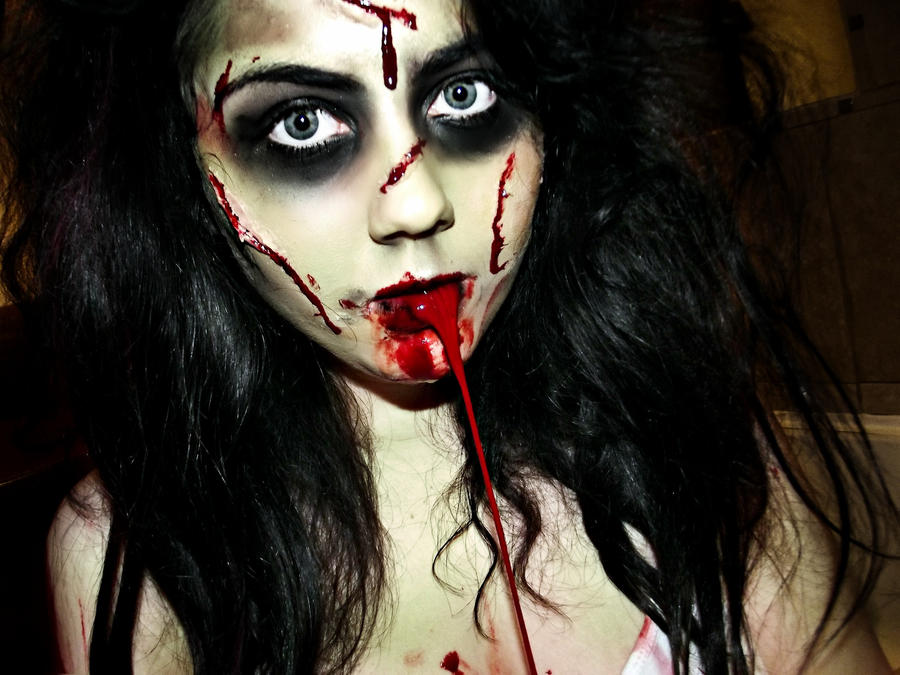 The exorcist halloween costume by kikimj stock on deviantart - Deguisement horreur femme ...