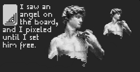 Pixel: Big David Undone by BotherBear