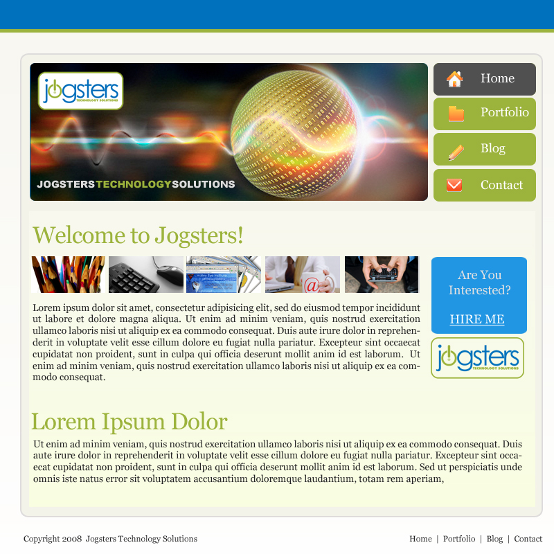 Jogster Design and Development by Noah0207