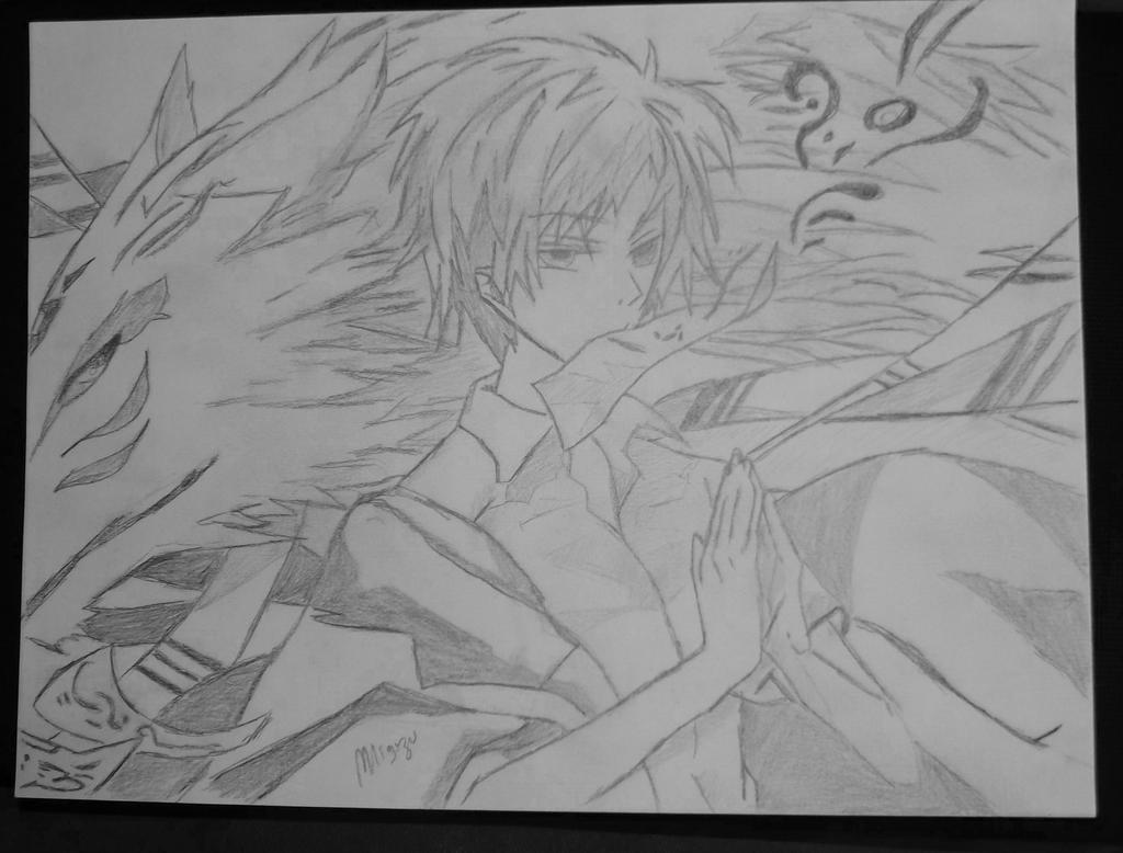 Natsume Takashi and Nyanko Sensei - Natsume Saga's by ...