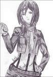 Mikasa Ackerman, Born to be Cool ~