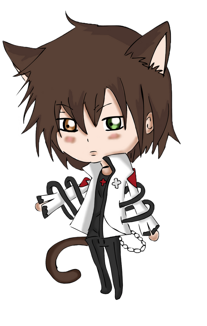 Kiriban - Chibi Clover [ Cute Neko Boy ] by CaptainMisuzu ...