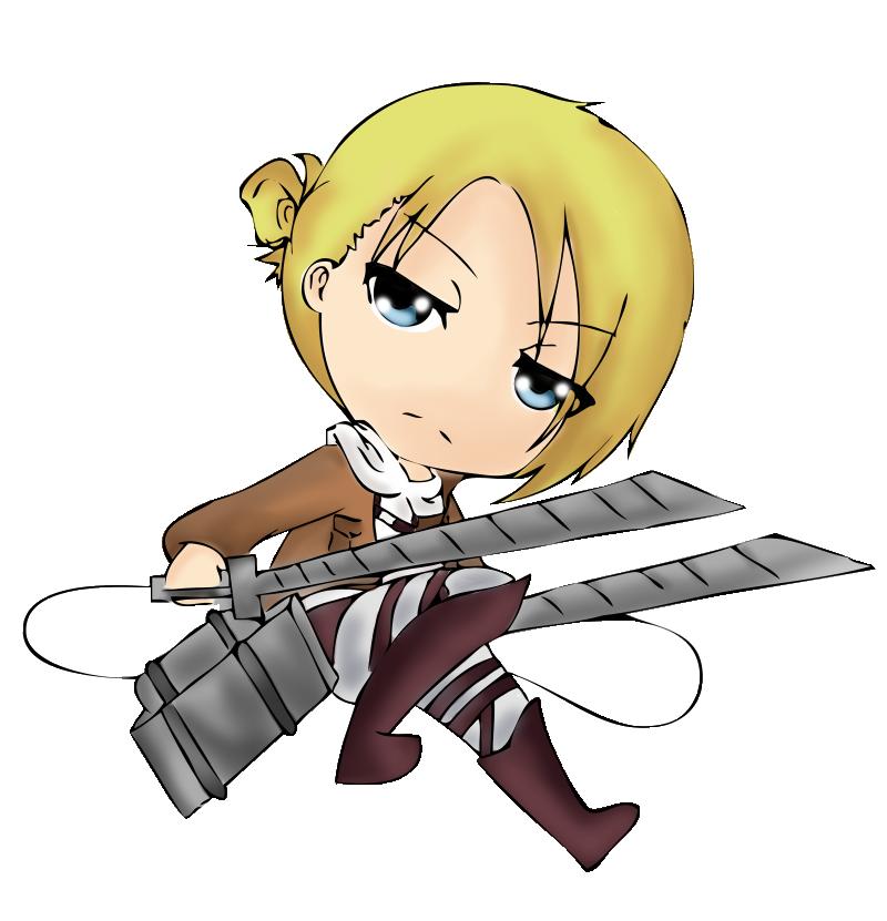 [AT] - Shingeki no Kyojin - Annie Ready to Fight ! by ...