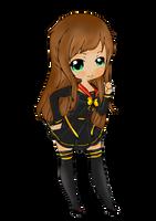 [ COM ] Chibi Sora - Uniform are totally cute ! by CaptainMisuzu