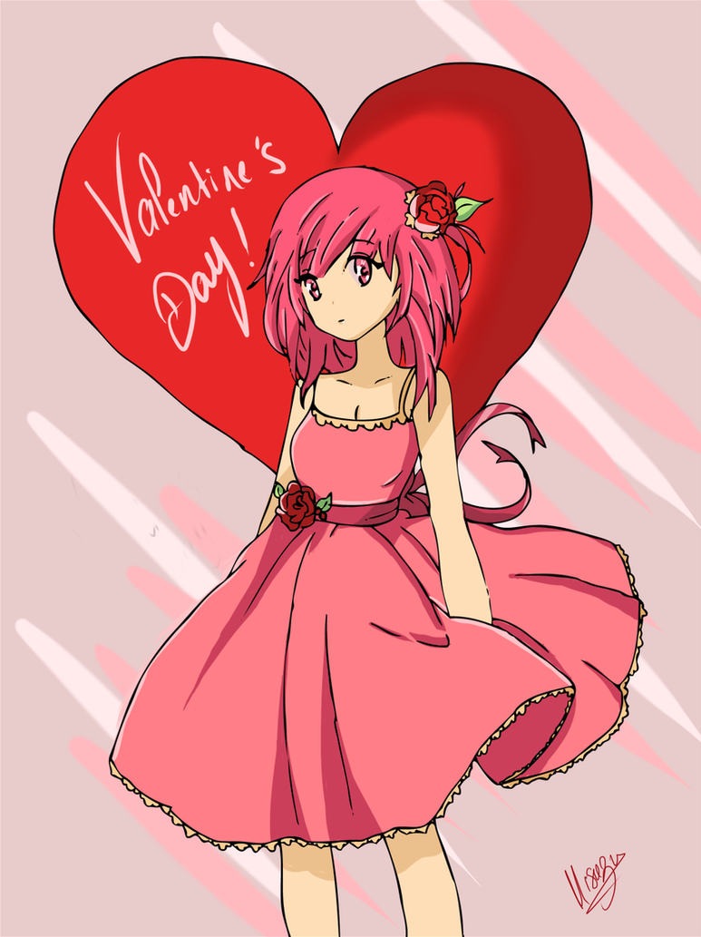 Happy Valentine's Day My Sweeties ! by CaptainMisuzu