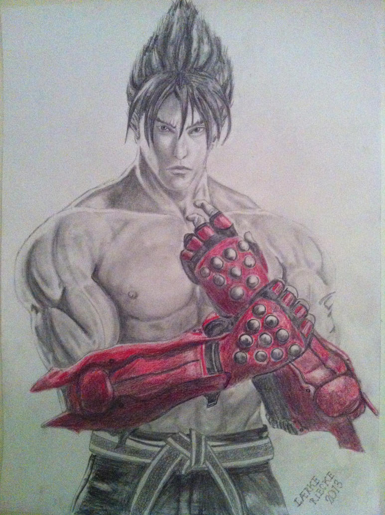 Tekken - Jin Kazama by Rieckepigen