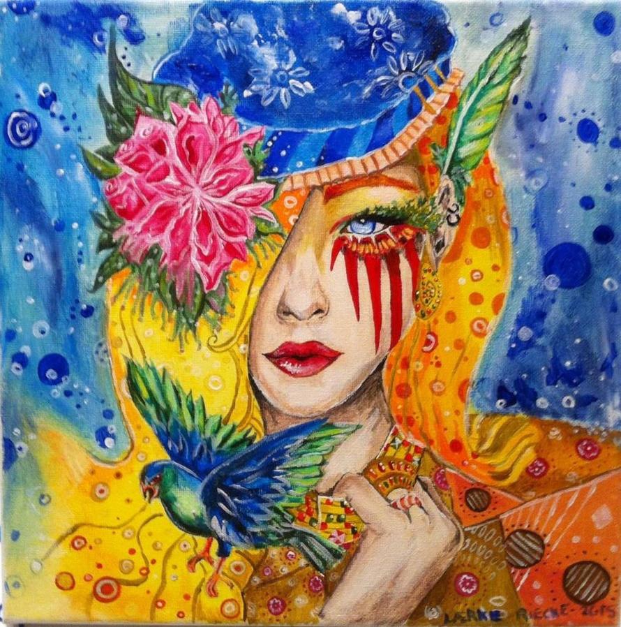 A colorful dream by Rieckepigen