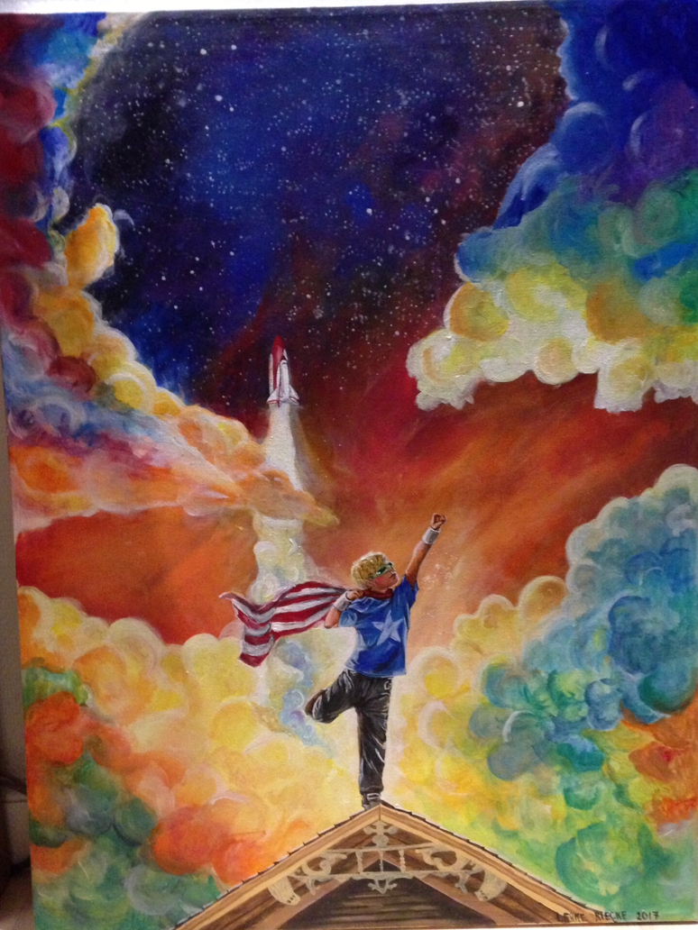 The dreamer by Rieckepigen