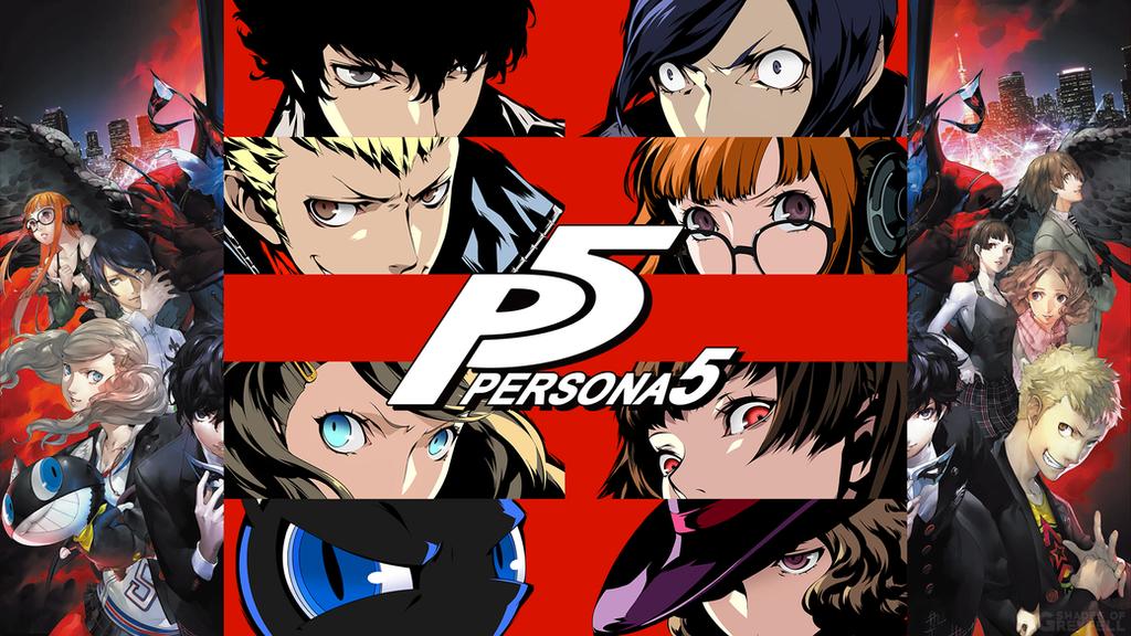 Persona 5 Wallpaper by ShadesOfGreyfell