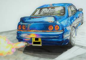 Nissan Skyline by Maxxis237