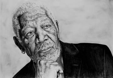 Morgan Freeman by Maxxis237