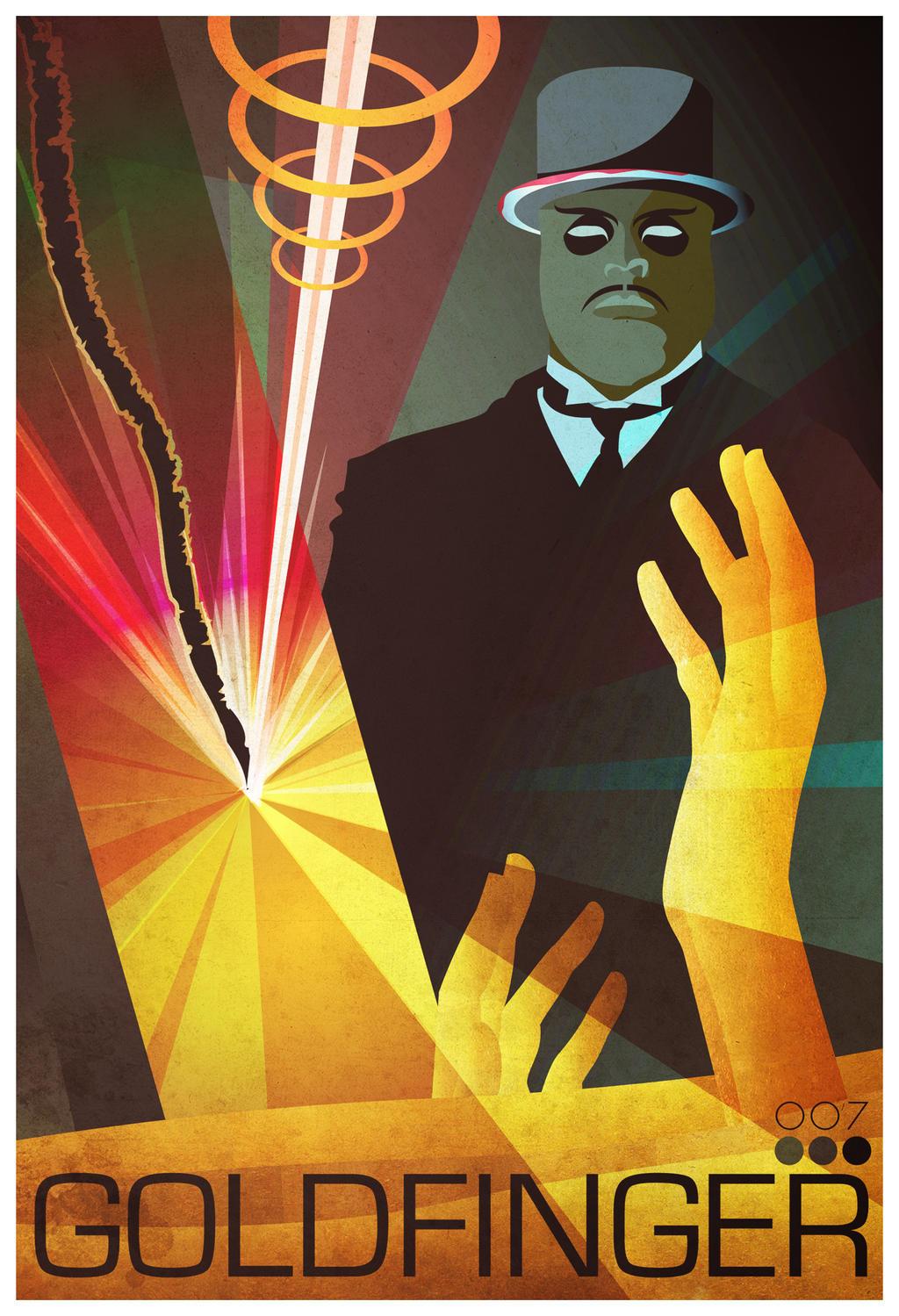 Goldfinger by gabrielthefuzz