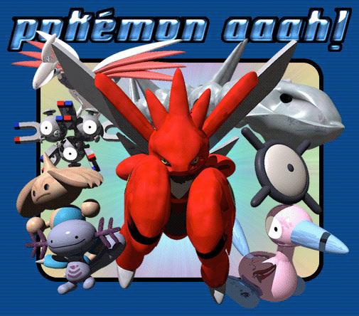 Pokemon Aaah Splash Page