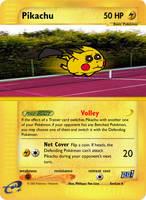 GenCon03 Promo4 - Pikachu Ball by pokemonaaah