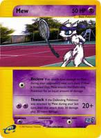 GenCon03 Promo5 - Tennis Mew by pokemonaaah