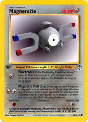 Magnemite by pokemonaaah