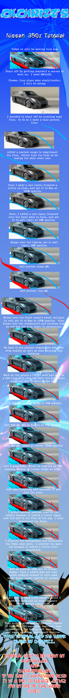 Nissan 350z Tutorial by CkChRIzZ