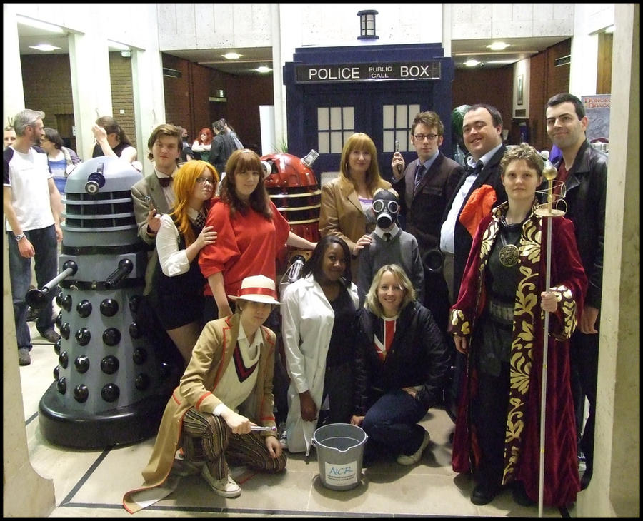 UK Games Expo 2010: Group IV by badwolf-999