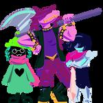 the deltarune squad