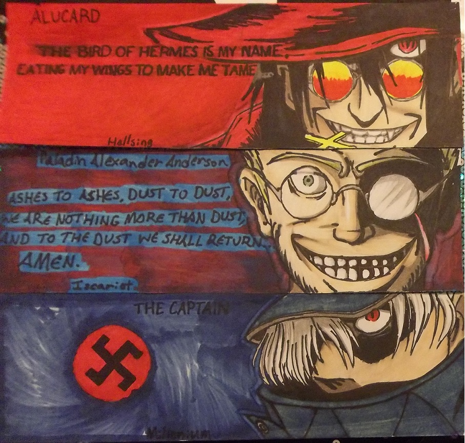 The Trump Cards Of Hellsing Ultimate By Empersian1234 On DeviantArt