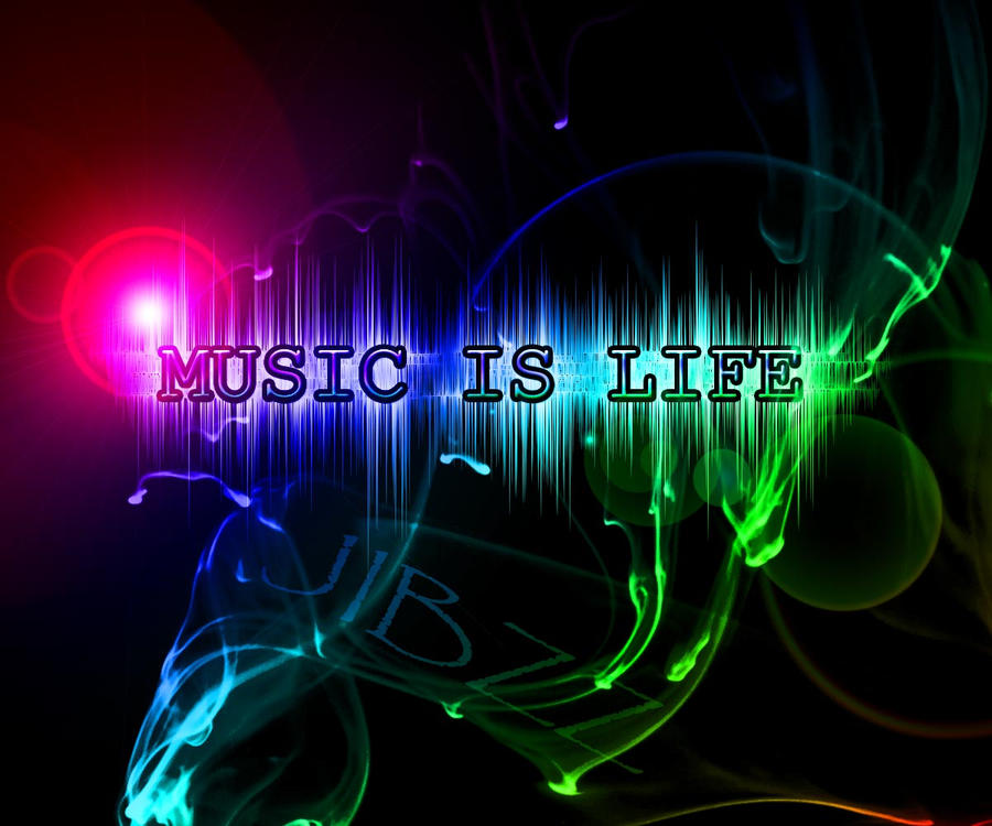 MUSIC IS LIFE by jibbz27 on DeviantArt