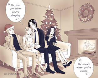 Merry Christmas! by MikouKayu