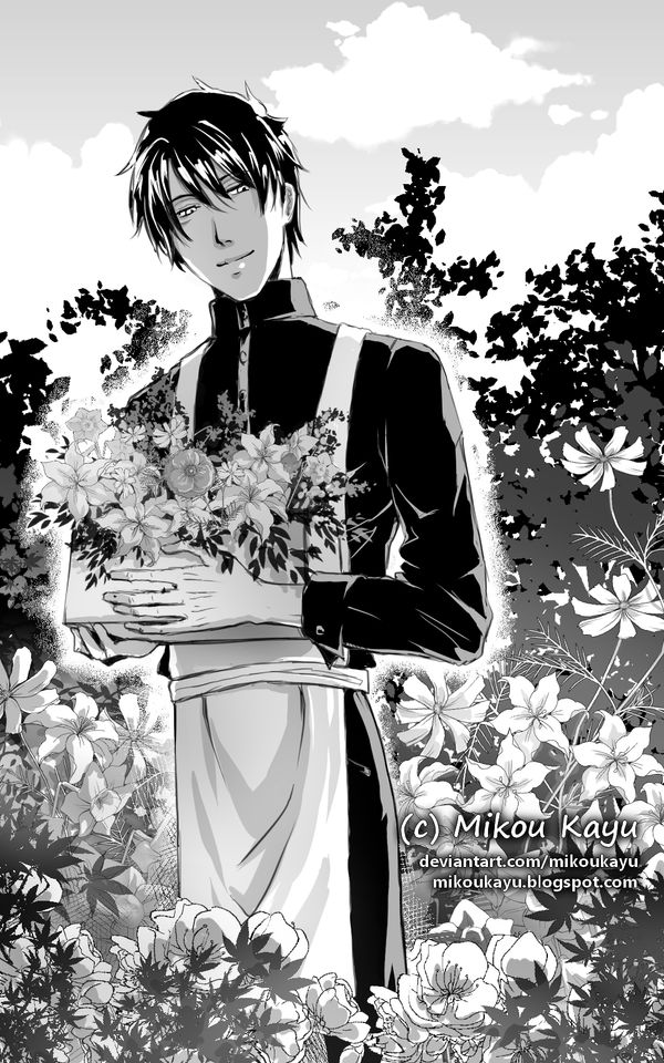 A Mysterious Gardener by MikouKayu