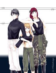 height comparison - DIVERSION