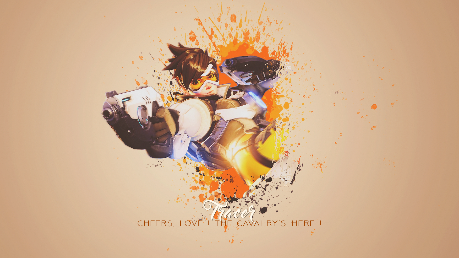 overwatch agent tracer wallpapers - photo #14