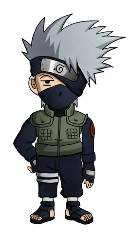 Chibi Kakashi by artreart on DeviantArt