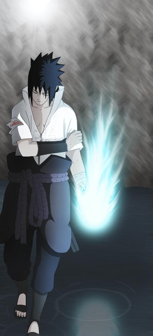 Naruto 485: Sasuke's Chidori by artreart on DeviantArt