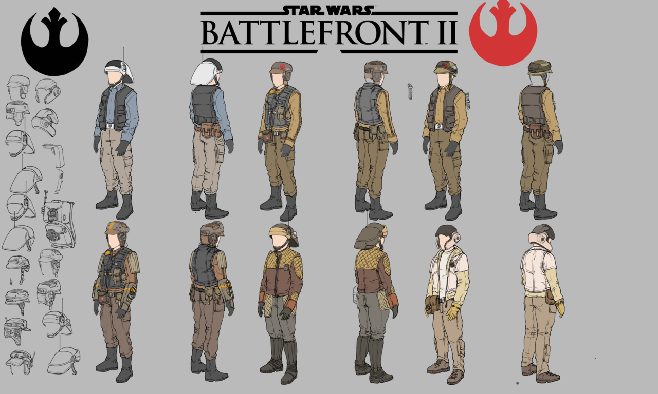 Star Wars Battlefront 2 Rebel Alliance Redesigns By Titojvd2297 On Deviantart