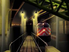 Train Station by Ockam