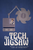 bud - Poster Tech. Jigsaw by Ockam