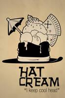 Fusion Poster - Hat Cream by Ockam