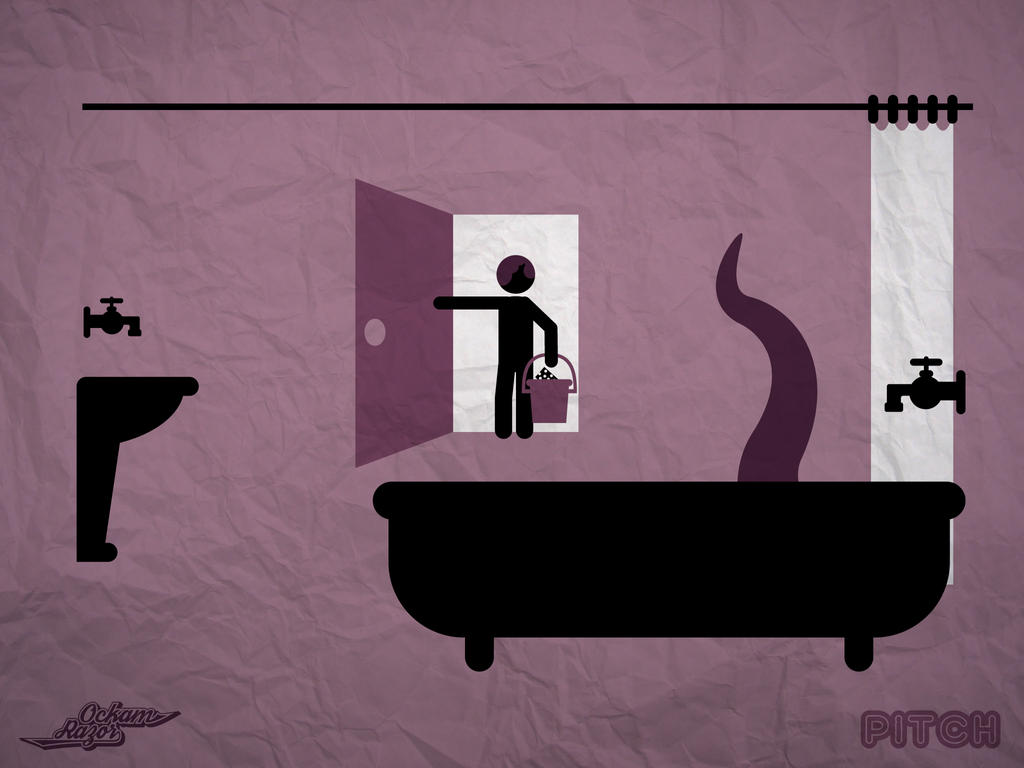Pitch 5 : une tuyauterie inhumaine - Wallpaper by Ockam