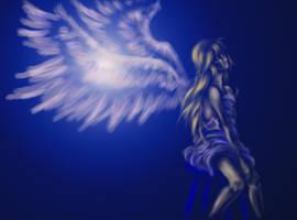 Ghostly Angel by Riemea