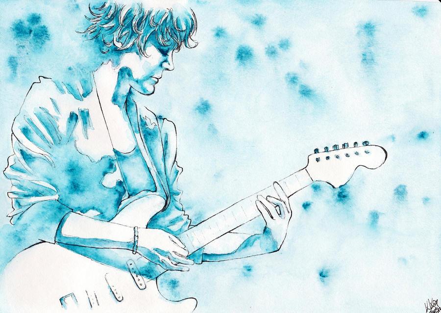 Blue Simone by Riemea