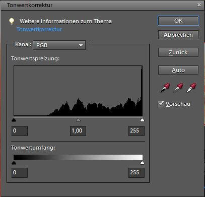 Levels in Photoshop Elements by Riemea