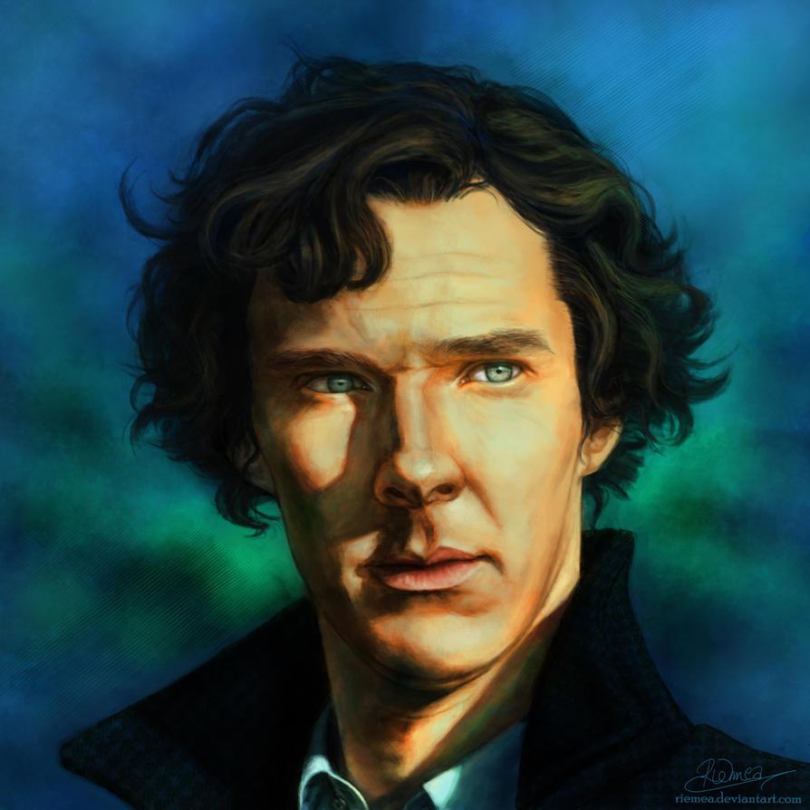 Sherlock Holmes by Riemea
