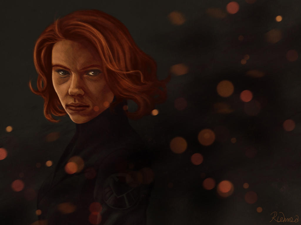 Black Widow by Riemea