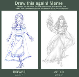 Draw this again! - 2007 vs 2017