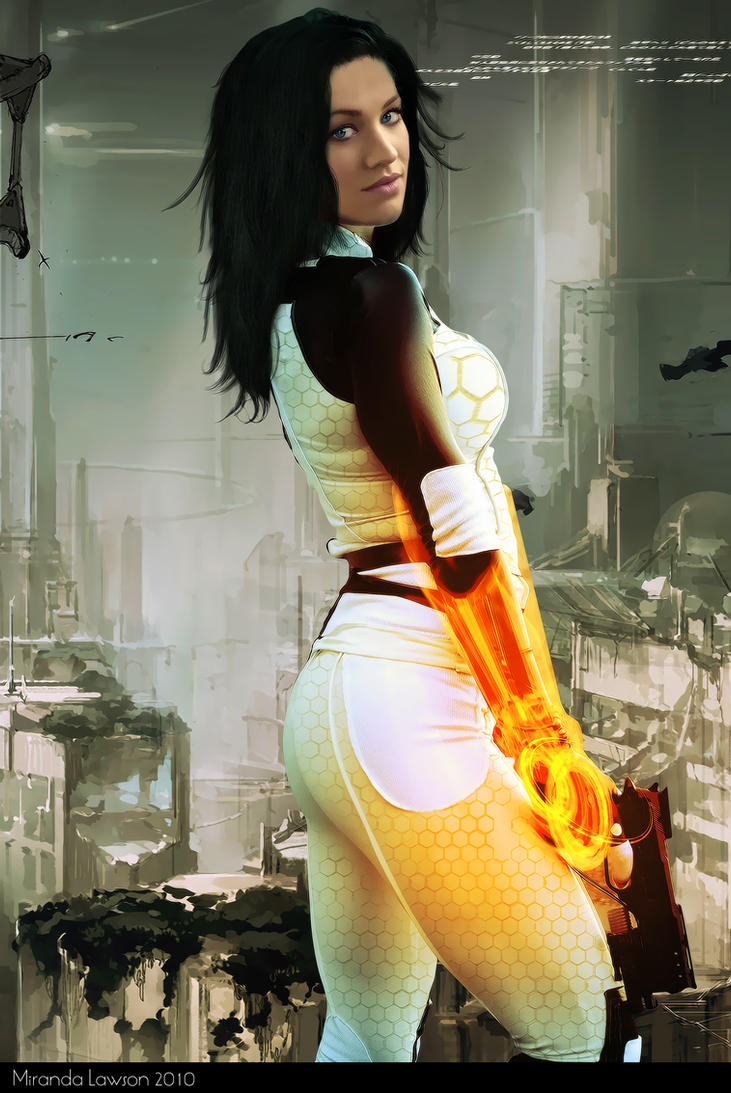 Miranda Lawson by mihaidesign