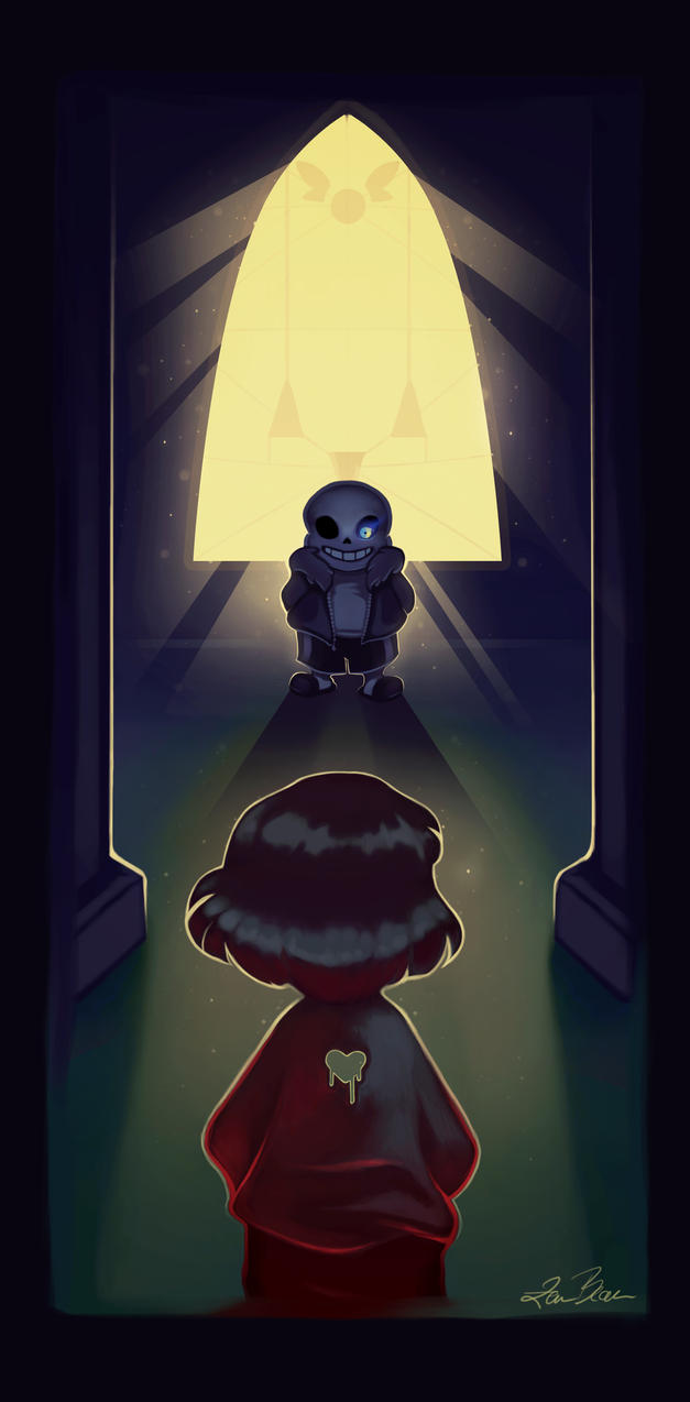 Undertale - Sans / Genocide Route by dotLinks
