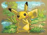 Pokemon Art Academy Apprentice Finale: Pikachu