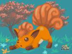 Pokemon art academy Graduate Course 1: Vulpix