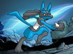Pokemon Art Academy Graduate Course 2: Lucario