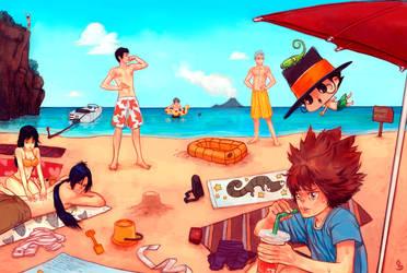 Reborn : everyone on the Beach