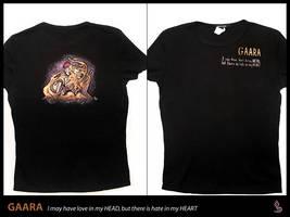 gaara t-shirt by funshark